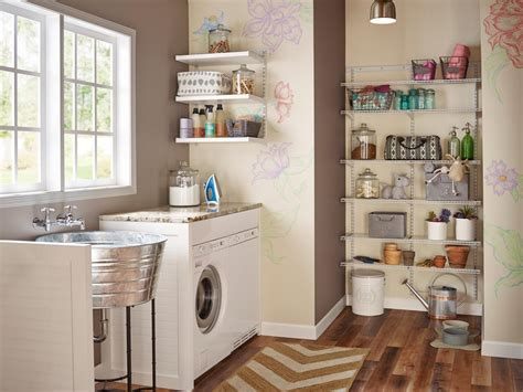 No Window Above Kitchen Sink 10 Clever Storage Ideas For Your Tiny Laundry Room Hgtv