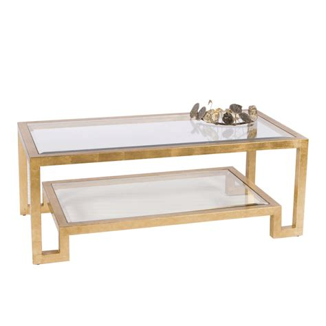transparent glass coffee table winston g