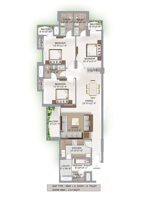 lotus boulevard floor plan 3c lotus boulevard floor plan flats in noida sector 100