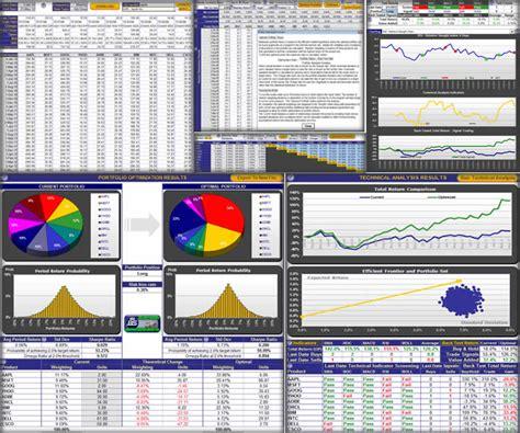 Portfolio Optimization 171 Investexcel Com Portfolio Optimization Excel Template