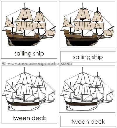 sailing boat nomenclature sailing ship nomenclature cards pinterest sailing