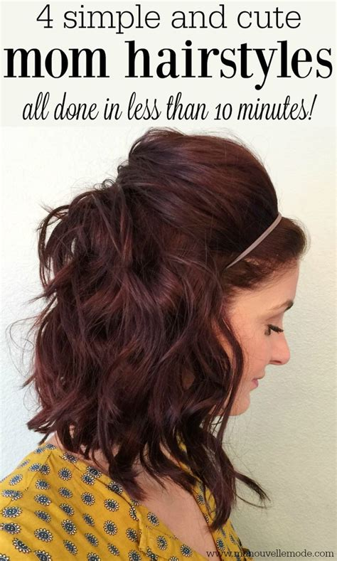 easy medium hairstyles for moms on the go 132 best hairstyles for medium length hair images on