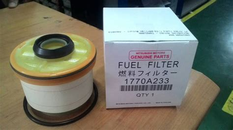 Filter Filter Oli Mitsubishi Triton Suku Cadang Asli jual fuel filter filter solar dw motors