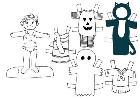 imagenes halloween pdf dibujo colorear halloween girl dibujo de recortables