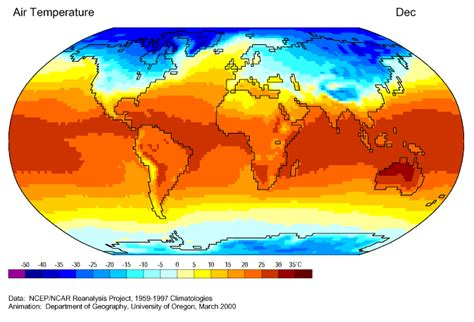 average january temperature world map journey north global climate and the seasons