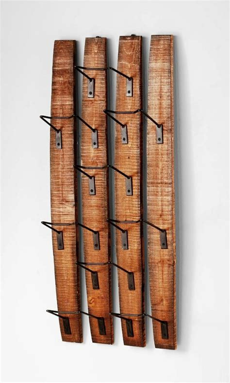 Wood Rack Design On Wall