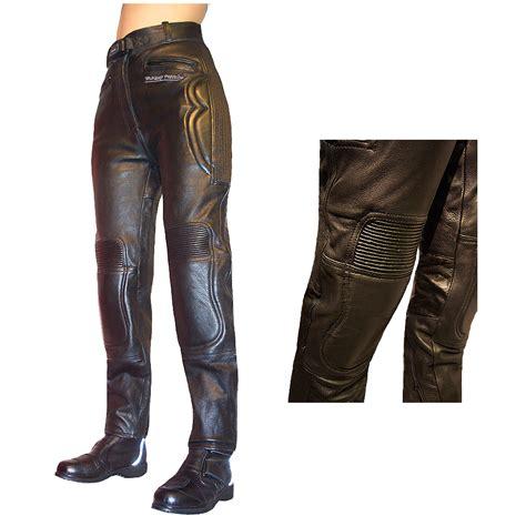 Ladies Viking Leather Motorcycle Jeans