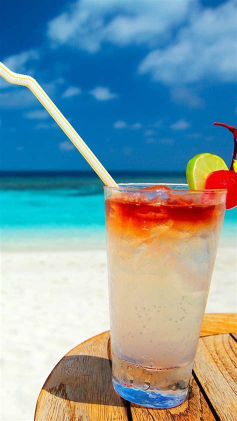 wallpaper cocktail beach  food