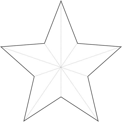 large star template new calendar template site