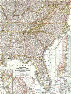 map of south eastern united states southeastern united states map