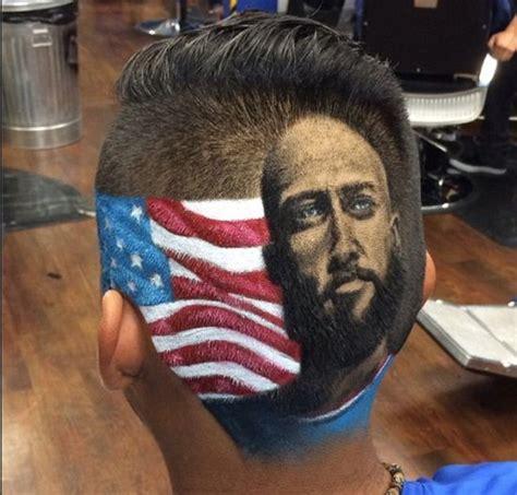 soccer players haircuts designs 世界杯巴西流行新发型 内马尔c罗头像刻上后脑勺 图 2014世界杯 新浪体育