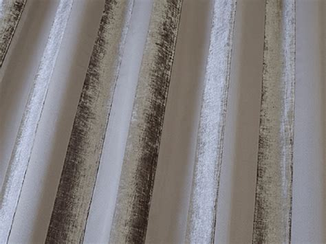 striped velvet curtain fabric iliv boheme stripe velvet curtain fabric mocha