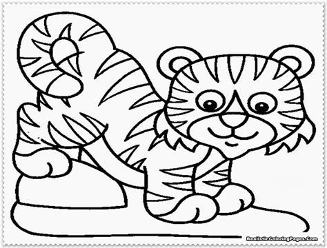 tiger color realistic tiger coloring pages realistic coloring pages