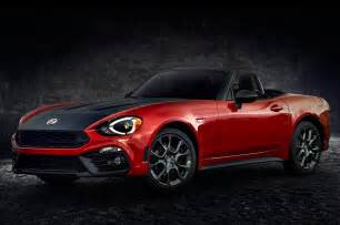 Fiat 134 Spider 2017 Fiat 124 Spider Review And Rating Motor Trend