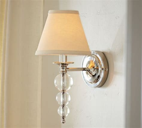 Pottery Barn Sconces stacked sconce contemporary wall sconces by pottery barn
