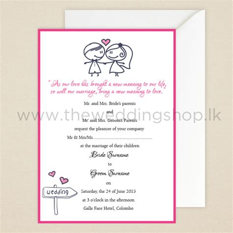 wedding invitations wording sri lanka modern wedding invitations sri lanka matik for