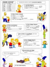 subject object possessive pronouns worksheets pdf french