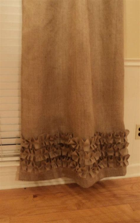 burlap linen curtains 127 best burlap curtains images on pinterest burlap
