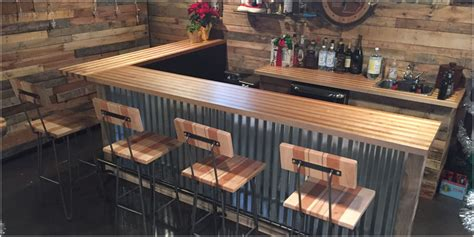 butcher block bar top live edge bar tops tree purposed detroit michigan live