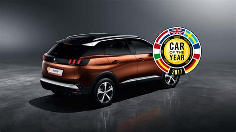 peugeot car of the year erster suv der car of the year wird der peugeot 3008