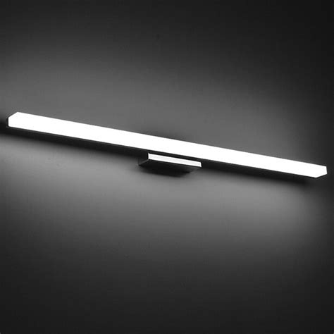 waterproof bathroom spotlights longer led mirror light ac90 260v modern cosmetic acrylic wall l bathroom lighting