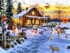 Free animated christmas screensavers with music christmas screensaver
