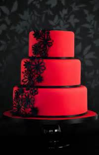 red and black wedding cakes the wedding specialists