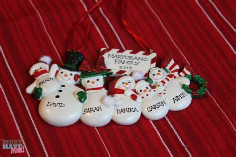personalized ornaments from ornaments with love great