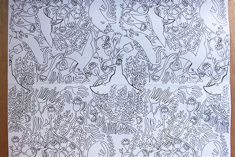 repeat pattern drawing learn how to draw a repeating pattern