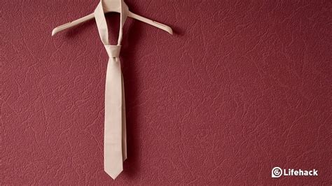 how to tie a tie like an expert
