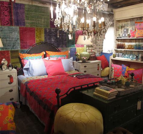 gypsy boho bedrooms interiors bedding bohemian bedroom interior design ideas pertaining to