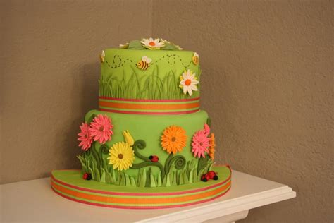 Flower Garden Cake Ideas Flower 5 Tips For Working With Fondant In Humid Climates