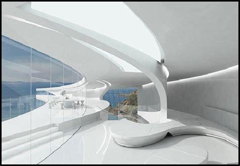 future home interior design futuristic design unique futuristic white mahina house