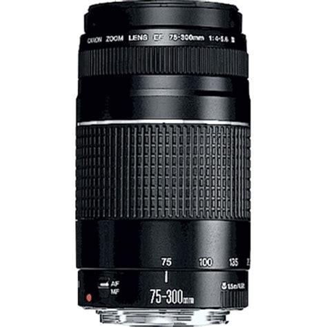 Canon Lens Ef 75 300 Mm F4 56 Iii Usm canon ef 75 300mm f 4 5 6 iii lens non usm canon lens