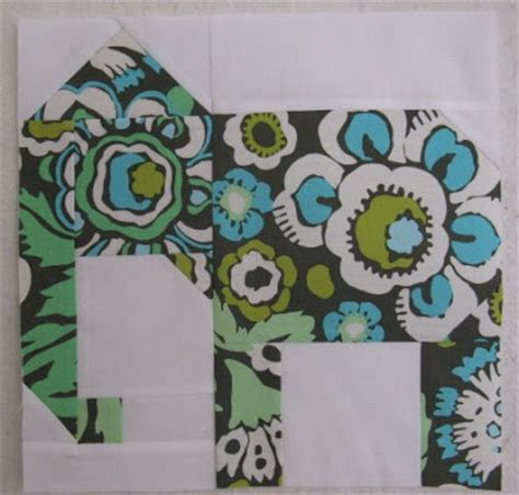 fabric elephant pattern free quilting blog cactus needle quilts fabric and more