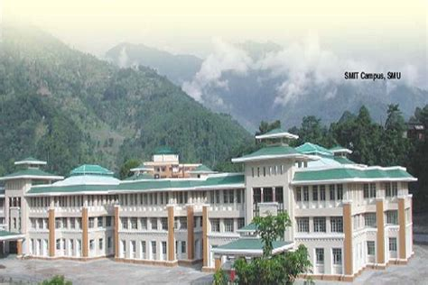 Mba In Sikkim Manipal Delhi by Sikkim Manipal Smu East Sikkim