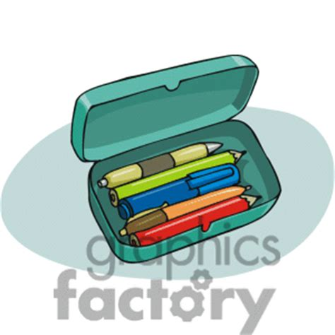 Colors Of Nature Pencil Kotak Pencsil Kulit pencil box with clipart panda free clipart images