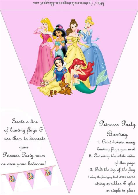 printable princess party decorations 249 best images about princess printouts on pinterest