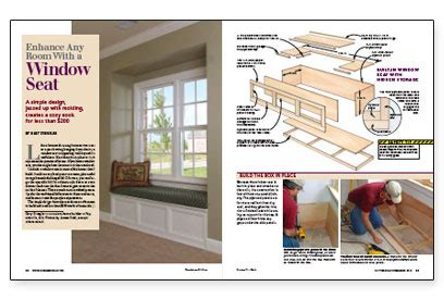 enhance a room with a window seat fine homebuilding enhance a room with a window seat fine homebuilding