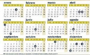 Calendario De La Calendiario Laboral Y Fiestas Locales En La Provincia Para
