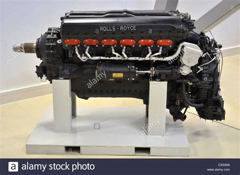 rolls royce merlin engine rolls royce merlin iii v12 engine stock photo 50404741