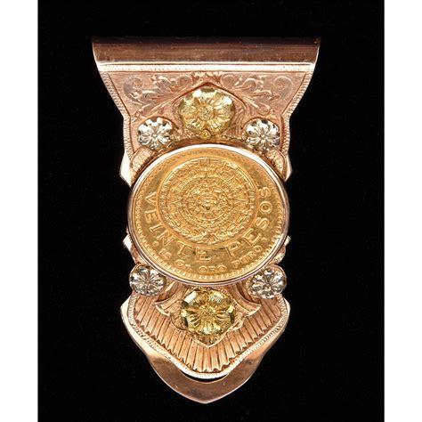 Gold Money Money Money Clip victor mature s ornate gold money clip