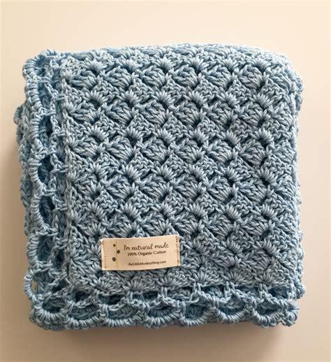 crochet pattern baby blue baby blanket