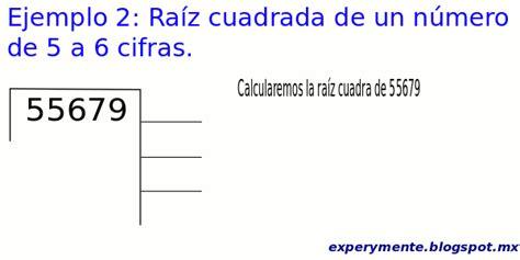 raiz cuadrada de 22 2012 experymente