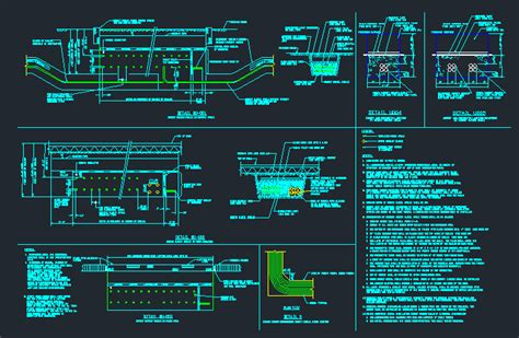 electrical direct burial cable installation details cad