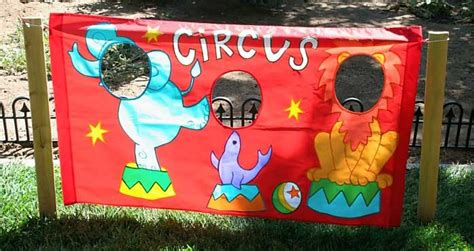 circus themed games step right up it s a circus party theme thoughtfully simple