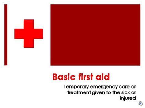Basic First Aid Authorstream Aid Powerpoint Slides
