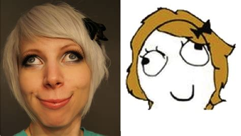 Sex Face Meme Female - derpina girl face in real life by siegeredwolf meme