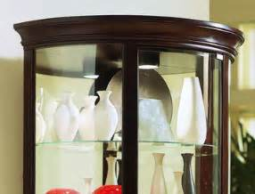 Chocolate Cherry Curio Cabinet Half Curio Cabinet In Chocolate Cherry Ii By Pulaski