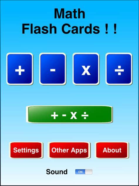 app for flash cards app shopper math flash cards education